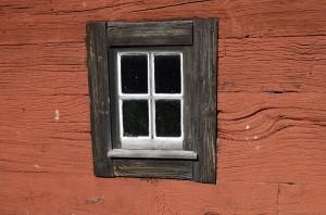 Bakom det stängda fönstret döljer sig slutet på resan