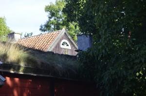 _Två av husen på Ölands Muséum