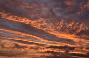 Himlen brinner