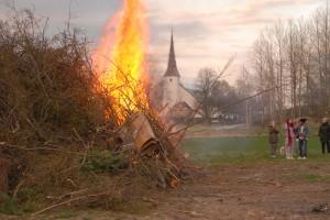 Hos Göran har bygden under en följd av år samlats för att fira Valborg