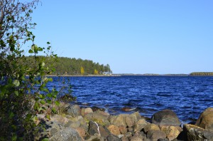 Löjfiske med Arne och Annika Påläng 2014 Sandgrundet